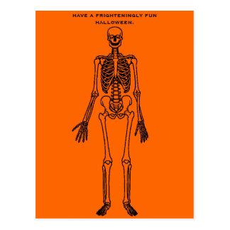 Cartão Postal o único esqueleto em meu armário
