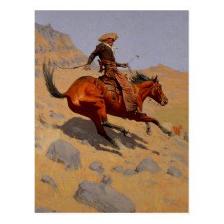 Cartão Postal O vaqueiro