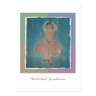 """Cartão Postal """"O vermelho calça"""" para a consciência do MS"""