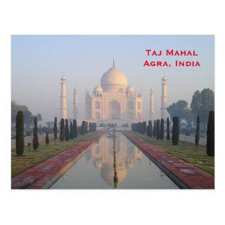 Cartão Postal O viagem do turismo do vintage de India adiciona