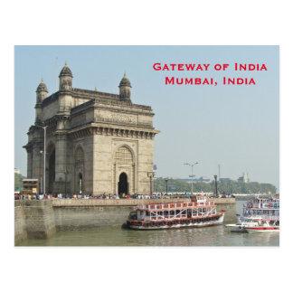 Cartão Postal O viagem do turismo do vintage de Mumbai India