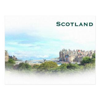 Cartão Postal O viagem do turismo do vintage de Scotland