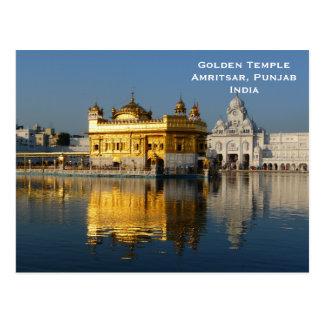 Cartão Postal O viagem dourado do turismo do vintage de India do