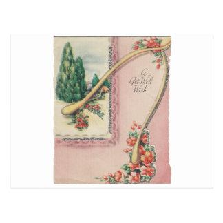 Cartão Postal O vintage obtem bem com Wishbone