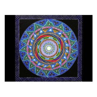 Cartão Postal O Vortex de espiralamento (cartão)