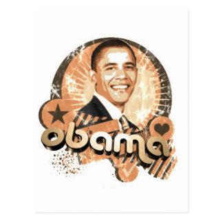 Cartão Postal Obama