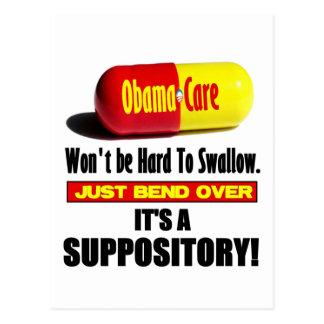 Cartão Postal ObamaCare - Suppository