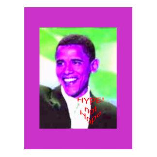 Cartão Postal ObamaHype