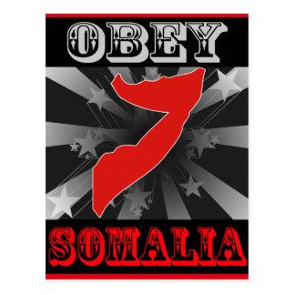 Cartão Postal Obedeça Somália