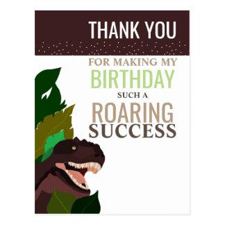 Cartão Postal Obrigado do aniversário das crianças do partido do