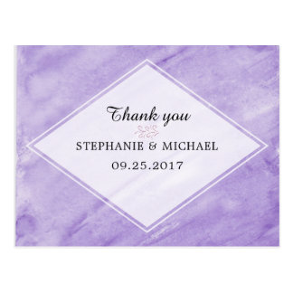 Cartão Postal Obrigado do chá de panela você