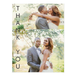 Cartão Postal Obrigado impressionante você
