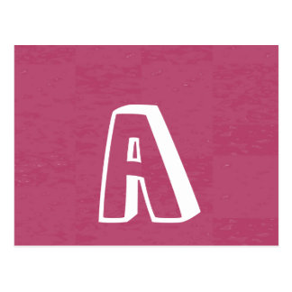 Cartão Postal Obtenha um A AA AAA e obtenha um presente das
