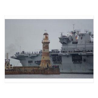 Cartão Postal Oceano do HMS