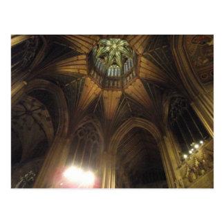 Cartão Postal Octagon, catedral de Ely
