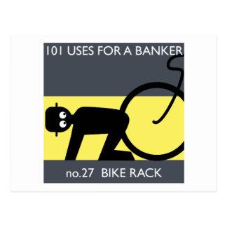 Cartão Postal ocupe Wall Street - tome sua bicicleta!