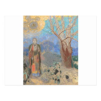 Cartão Postal Odilon Redon: Le Bouddha, Buddha