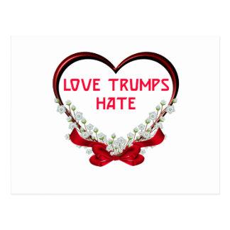 Cartão Postal ódio dos trunfos do amor