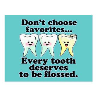 Cartão Postal Odontologia engraçada