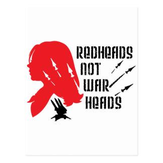 Cartão Postal Ogivas dos Redheads não