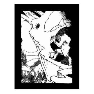 Cartão Postal Ogre (ogre do Landslip)