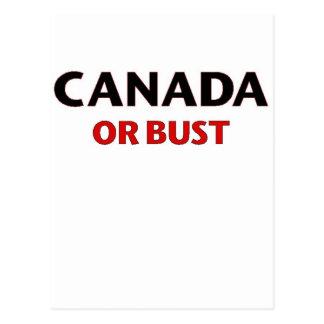 Cartão Postal Oh Canadá