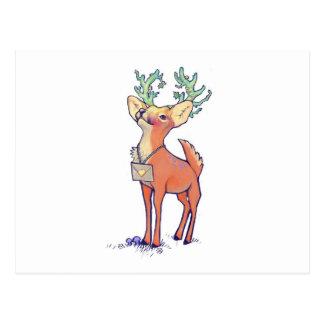 Cartão Postal Oh cervos