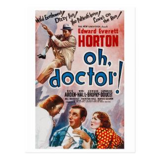 Cartão Postal Oh, doutor!