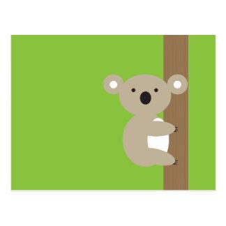 Cartão Postal Oh oh Koala