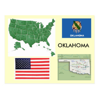 Cartão Postal Oklahoma, EUA