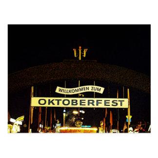 Cartão Postal Oktoberfest