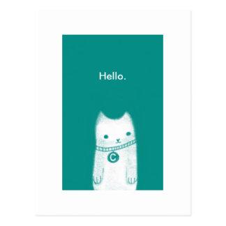 Cartão Postal Olá!