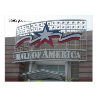 Cartão Postal Olá! de… Alameda de América
