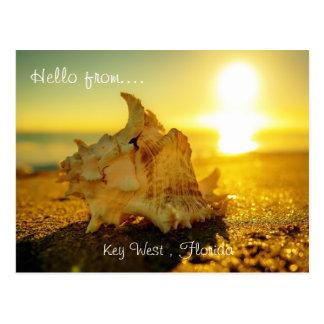 Cartão Postal Olá! de… Key West, Florida