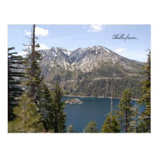 Cartão Postal Olá! de… Lake Tahoe