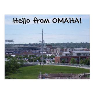 Cartão Postal Olá! de OMAHA!