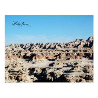 Cartão Postal Olá! de… Parque nacional do ermo