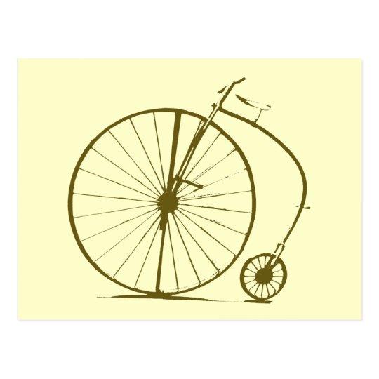Cartão Postal Old-bike/cycle