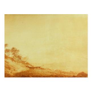 Cartão Postal Olhando para Arkona no nascer do sol, 1801