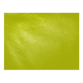 Cartão Postal Olhar de couro amarelo dourado