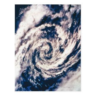 Cartão Postal Olho da tempestade