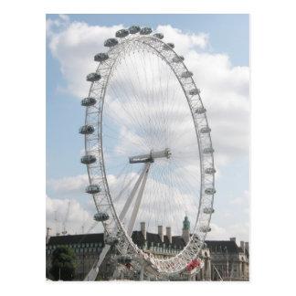 Cartão Postal Olho de Londres