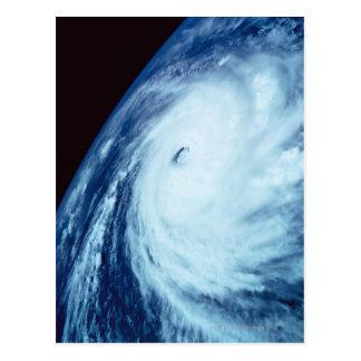 Cartão Postal Olho de uma tempestade