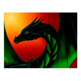Cartão Postal Olho do dragão