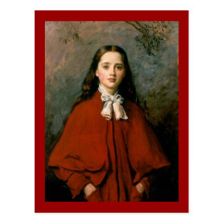 Cartão Postal Olhos brilhantes pelo senhor John Everett Millais