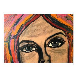 Cartão Postal Olhos com alma