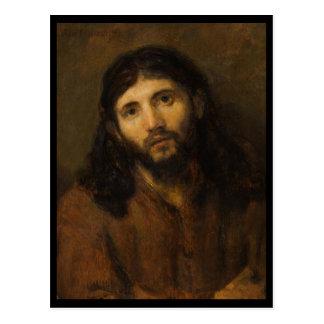 Cartão Postal Olhos compassivo Jesus