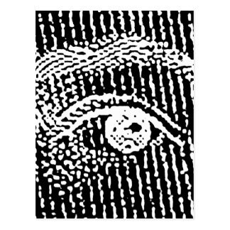 Cartão Postal Olhos da rainha Elizabeth