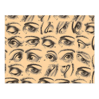 Cartão Postal Olhos dos olhos dos olhos!