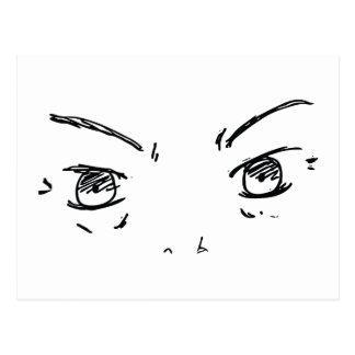 Cartão Postal Olhos irritados 1